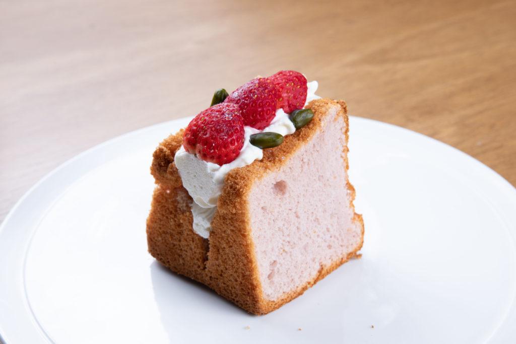 いちご シフォン ケーキ